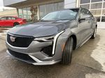 Gray[Satin Steel Metallic] 2021 Cadillac CT4 Sport Left Front Head Light / Bumper and Grill in Calgary AB