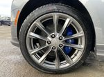 Gray[Satin Steel Metallic] 2021 Cadillac CT4 Sport Left Front Rim and Tire Photo in Calgary AB