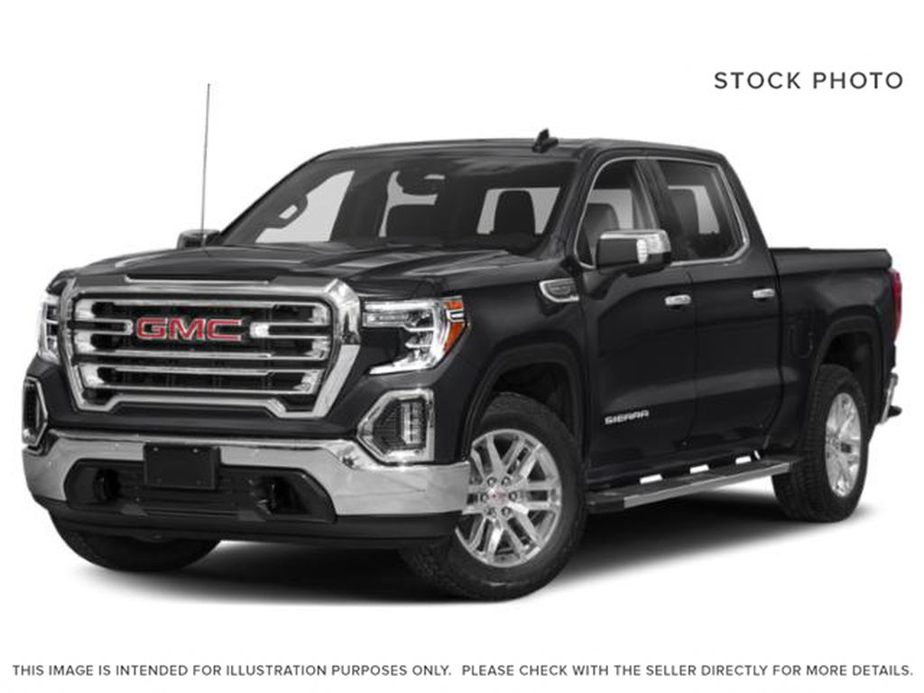 Black[Ebony Twilight Metallic] 2021 GMC Sierra 1500 SLT