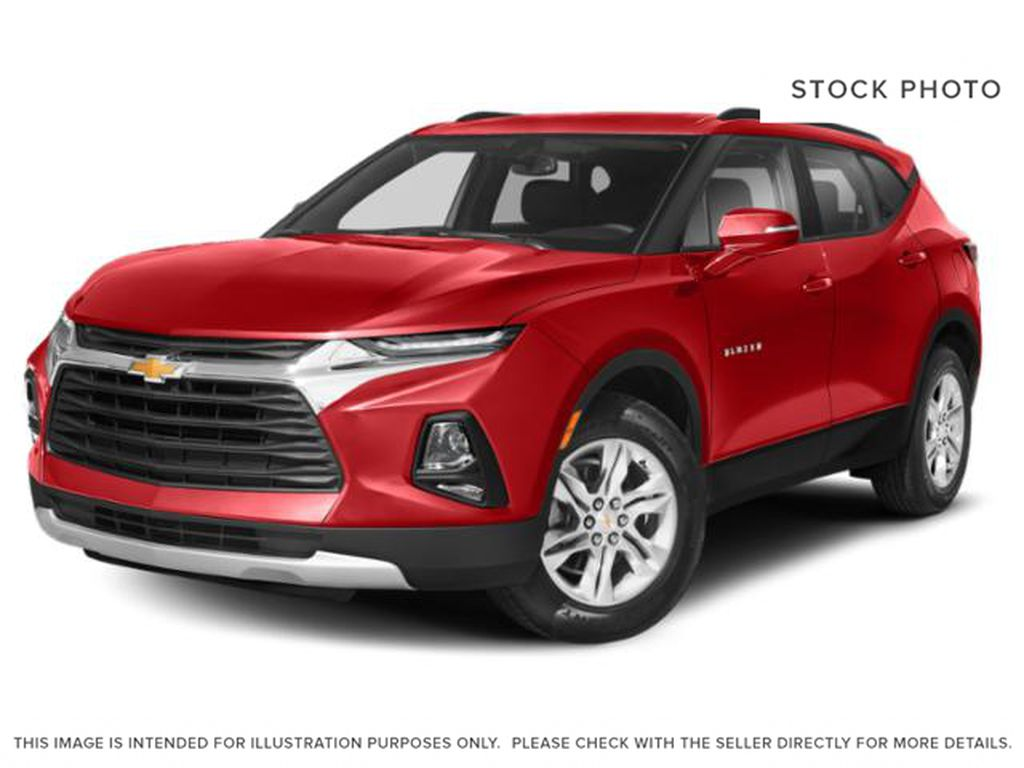 Red[Cherry Red Tintcoat] 2021 Chevrolet Blazer RS