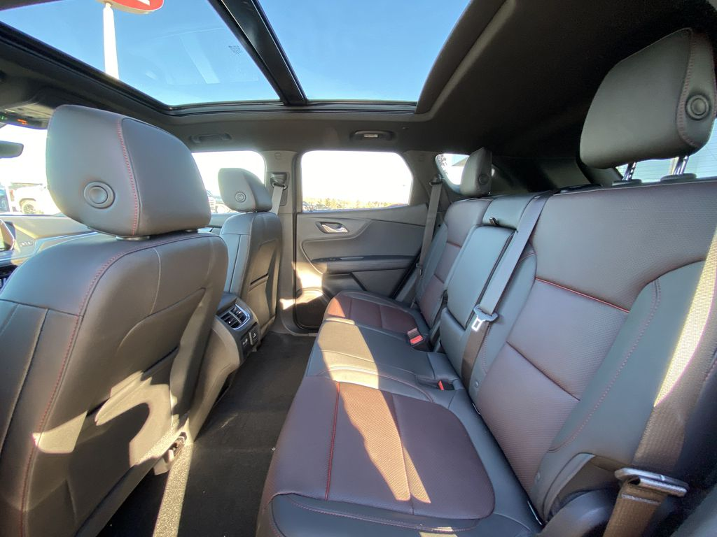 Red[Cherry Red Tintcoat] 2021 Chevrolet Blazer RS Left Side Rear Seat  Photo in Calgary AB