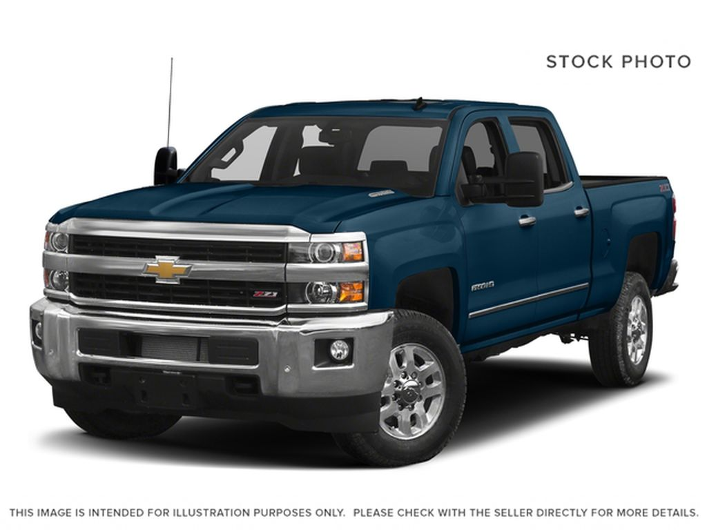 Blue[Deep Ocean Blue Metallic] 2018 Chevrolet Silverado 2500HD