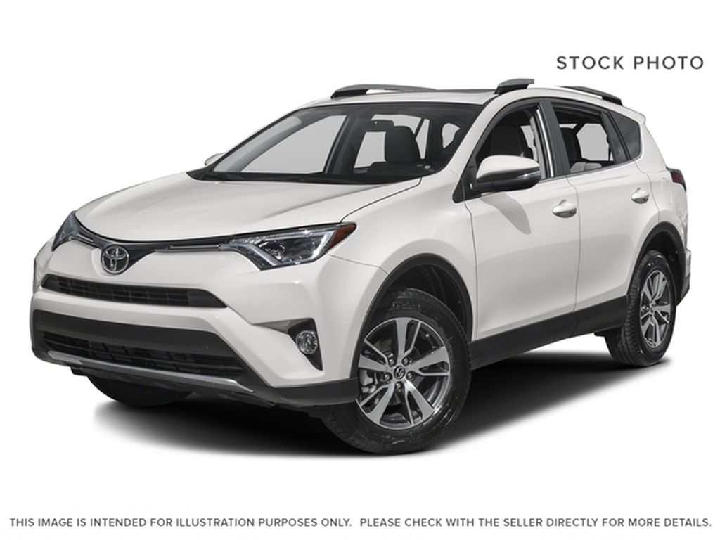 White[Super White] 2018 Toyota RAV4 Trail Edition AWD