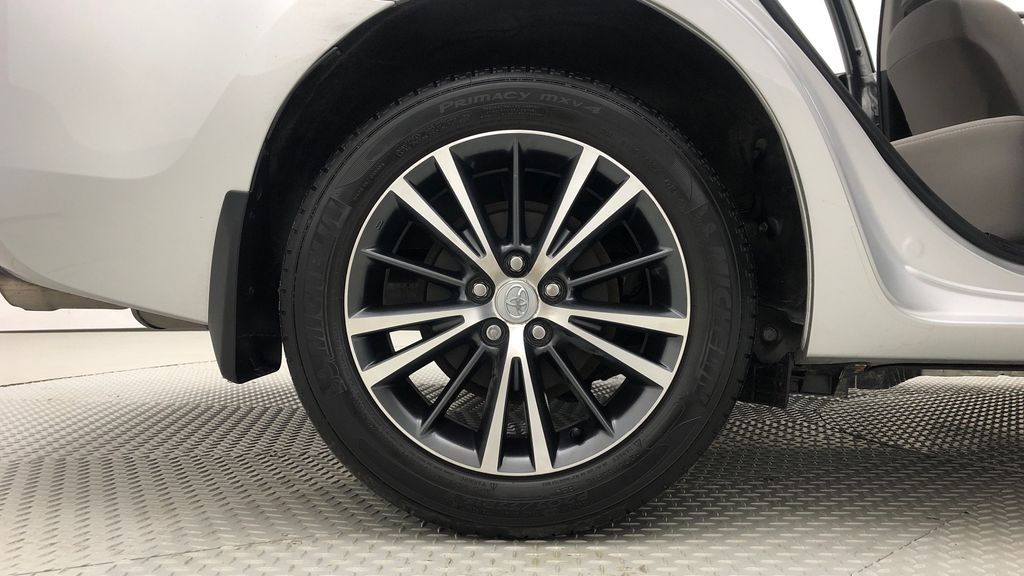 Silver[Classic Silver Metallic] 2016 Toyota Corolla LE - AUTO, Sunroof, 2 Sets Of Wheels, LOW PRICE Right Rear Rim and Tire Photo in Winnipeg MB