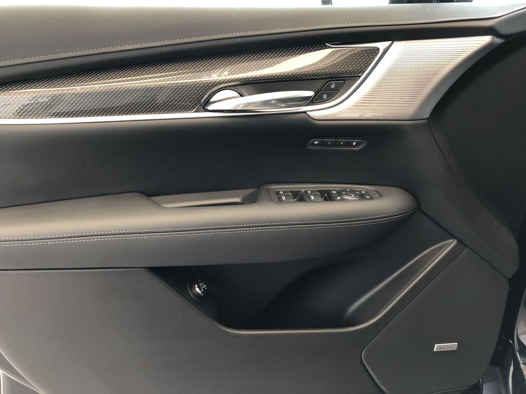 Black[Stellar Black Metallic] 2021 Cadillac XT5 Left Front Interior Door Panel Photo in Edmonton AB