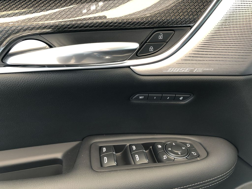 Black[Stellar Black Metallic] 2021 Cadillac XT5  Driver's Side Door Controls Photo in Edmonton AB