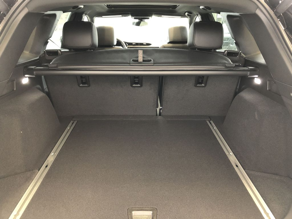 Black[Stellar Black Metallic] 2021 Cadillac XT5 Trunk / Cargo Area Photo in Edmonton AB