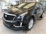 Black[Stellar Black Metallic] 2021 Cadillac XT5 Left Front Corner Photo in Edmonton AB