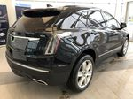 Black[Stellar Black Metallic] 2021 Cadillac XT5 Right Rear Corner Photo in Edmonton AB