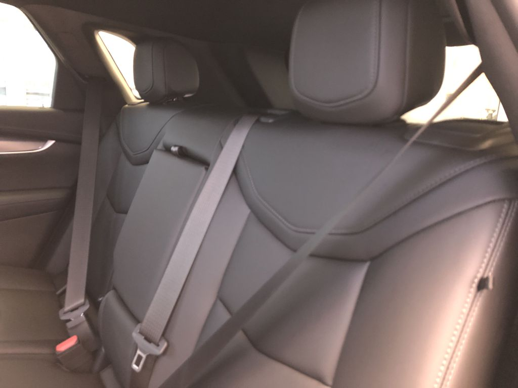 White[Crystal White Tricoat] 2021 Cadillac XT5 Left Side Rear Seat  Photo in Edmonton AB