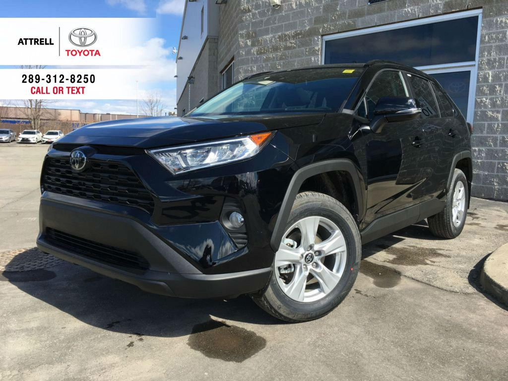 Black[Midnight Black Metallic] 2021 Toyota RAV4 AWD XLE Standard Package R1RFVT AM