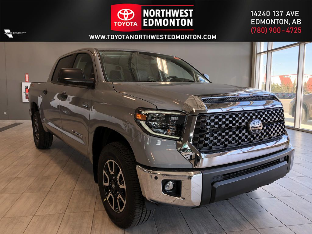 Cement Grey Metallic 2021 Toyota Tundra 4WD Crewmax TRD Off Road Premium