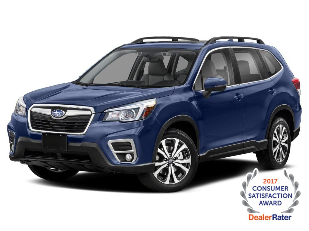 Blue 2021 Subaru Forester