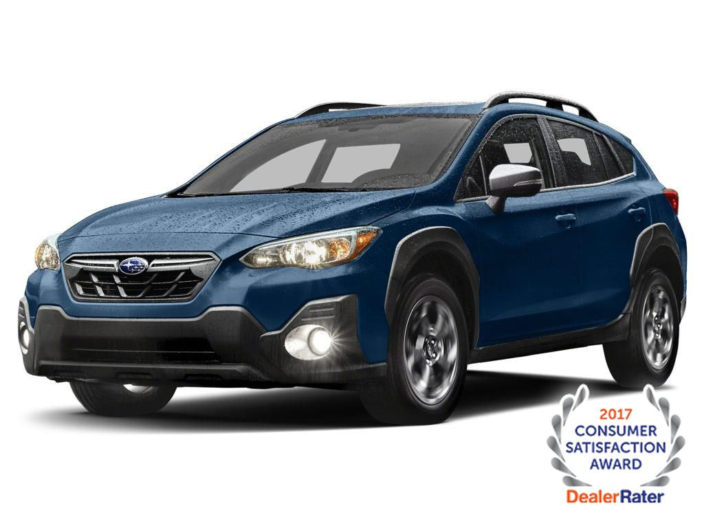 Blue 2021 Subaru Crosstrek