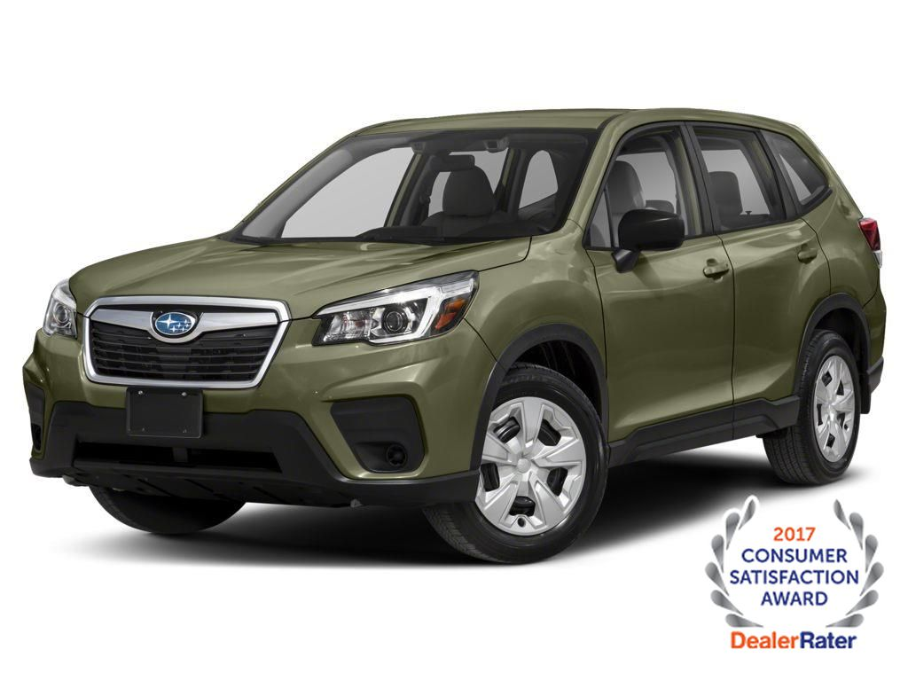 Green 2021 Subaru Forester