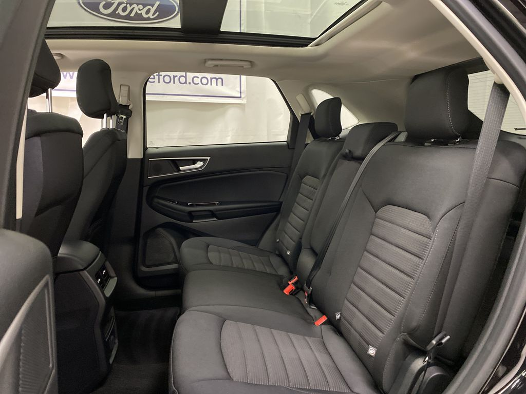 Black[Agate Black] 2020 Ford Edge Left Side Rear Seat  Photo in Dartmouth NS