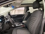 Black[Agate Black] 2020 Ford Edge Left Front Interior Photo in Dartmouth NS