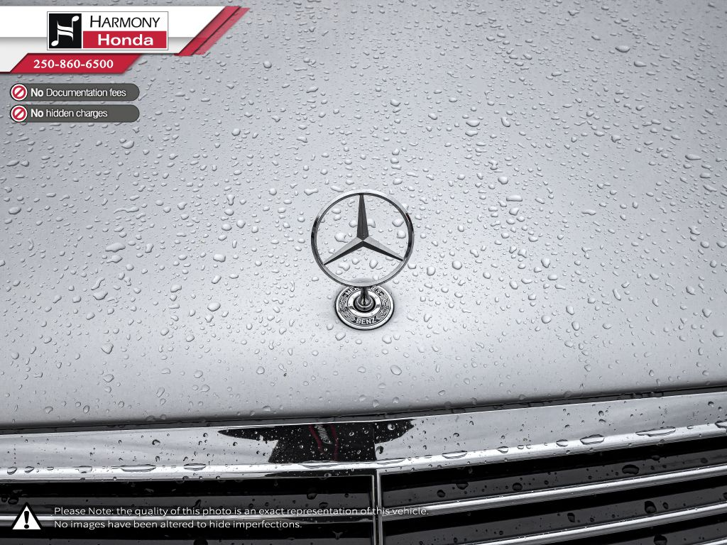 Silver 2001 Mercedes-Benz S-Class Rear of Vehicle Photo in Kelowna BC