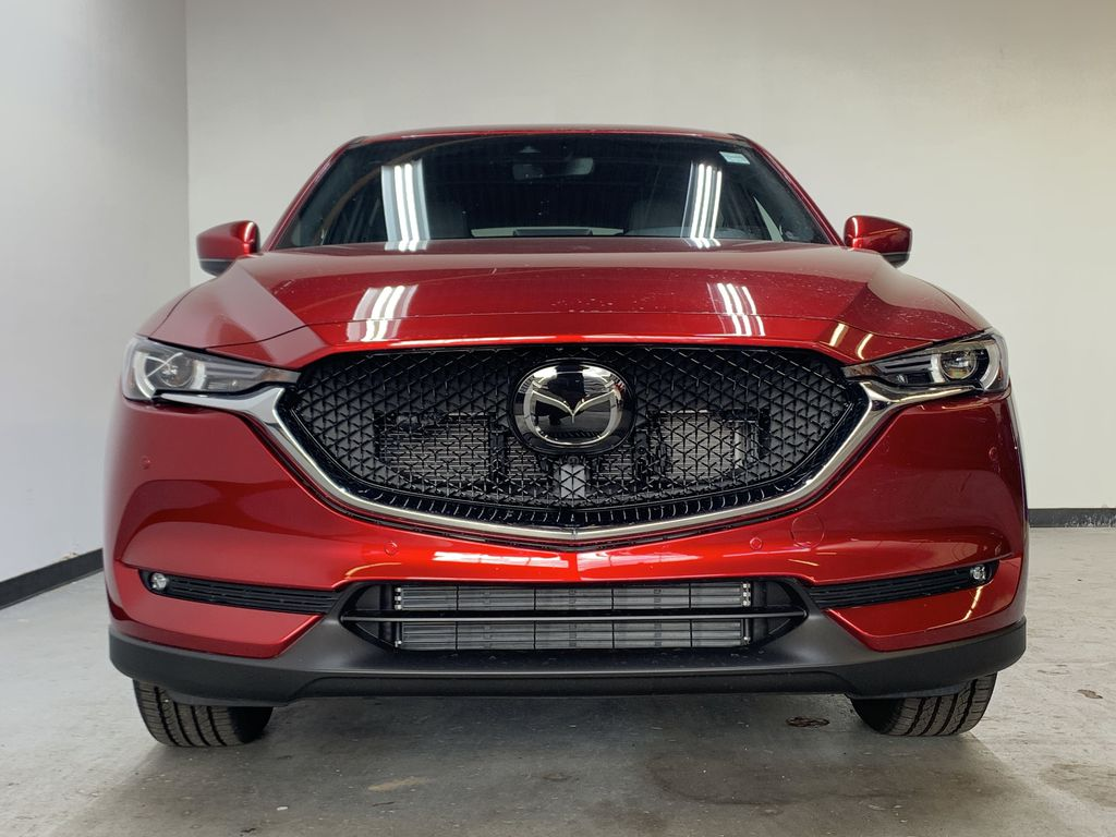 SOUL RED CRYSTAL METALLIC(46V) 2021 Mazda CX-5 GT Turbo AWD Front Vehicle Photo in Edmonton AB