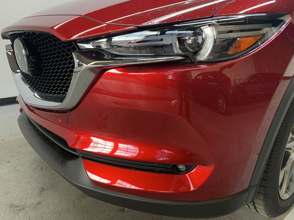 SOUL RED CRYSTAL METALLIC(46V) 2021 Mazda CX-5 GT Turbo AWD Left Front Head Light / Bumper and Grill in Edmonton AB