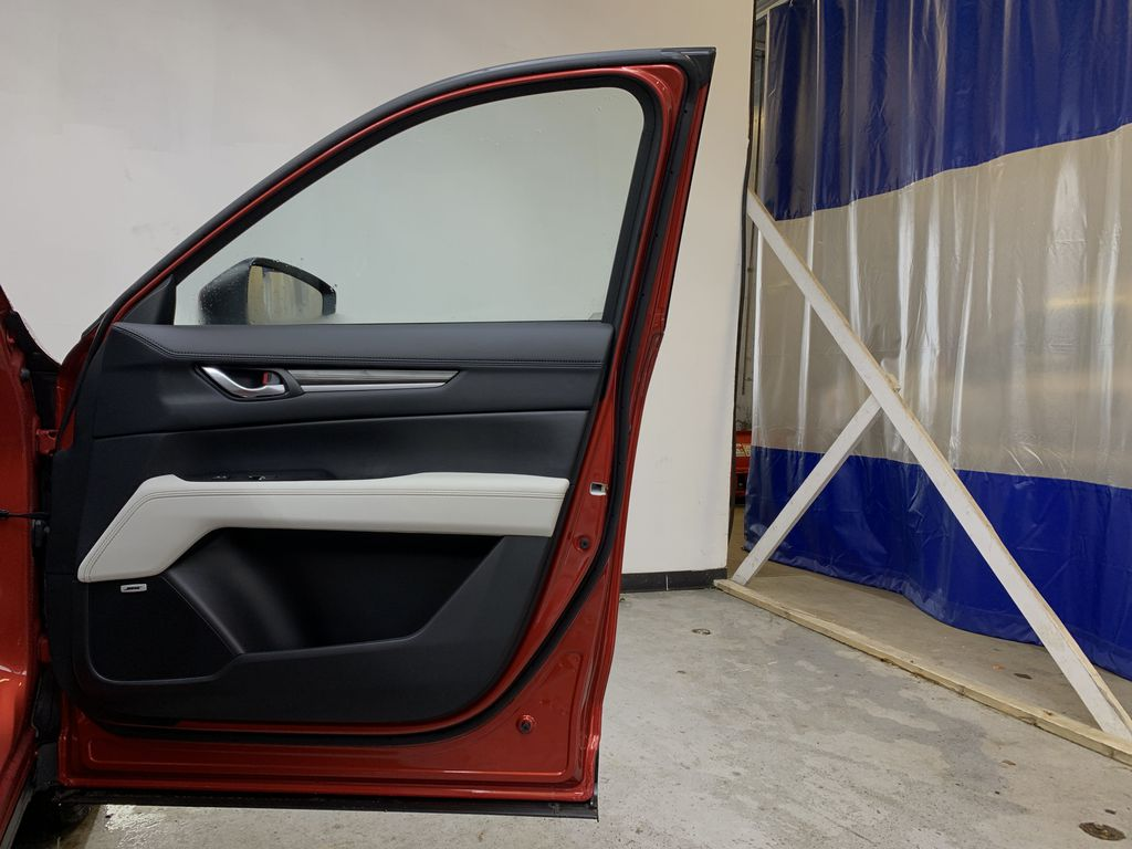 SOUL RED CRYSTAL METALLIC(46V) 2021 Mazda CX-5 GT Turbo AWD Right Front Interior Door Panel Photo in Edmonton AB