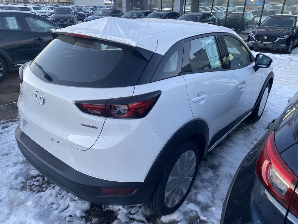 SNOW FLAKE WHITE PEARL(25D) 2021 Mazda CX-3 GT AWD  Driver's Side Door Controls Photo in Edmonton AB