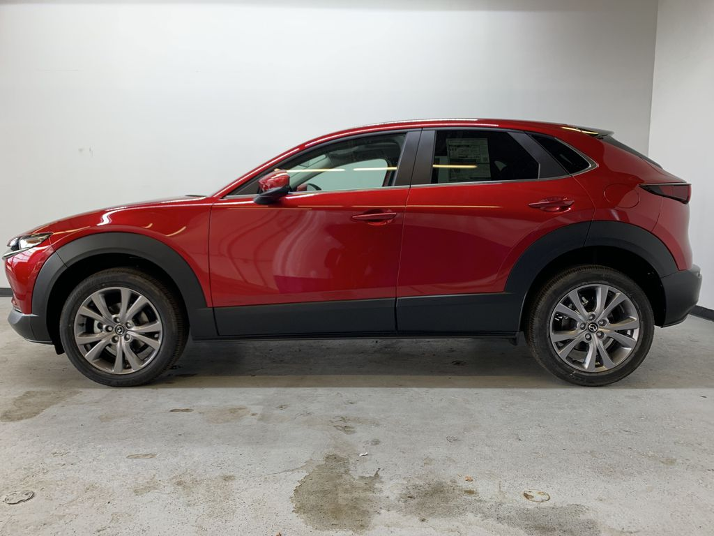 SOUL RED CRYSTAL METALLIC(46V) 2021 Mazda CX-30 GS AWD Left Side Photo in Edmonton AB