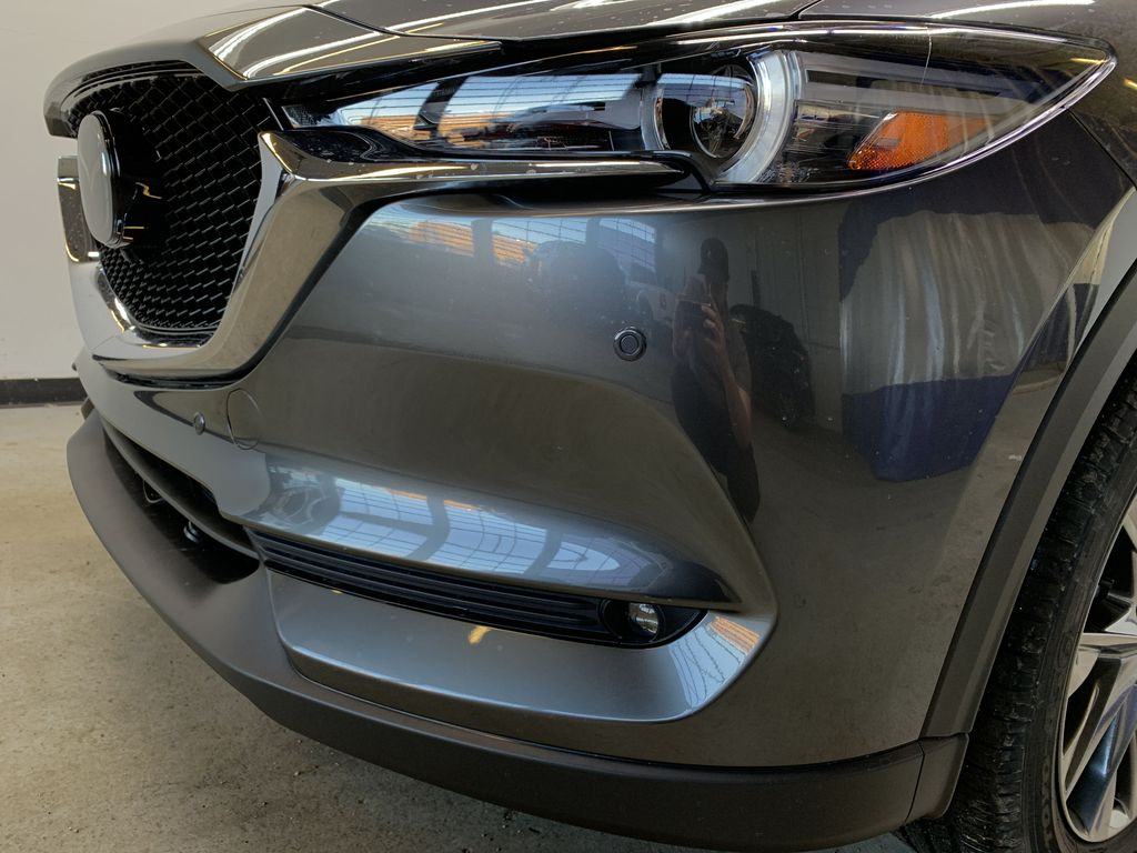 MACHINE GREY METALLIC(46G) 2021 Mazda CX-5 Signature AWD Left Front Head Light / Bumper and Grill in Edmonton AB