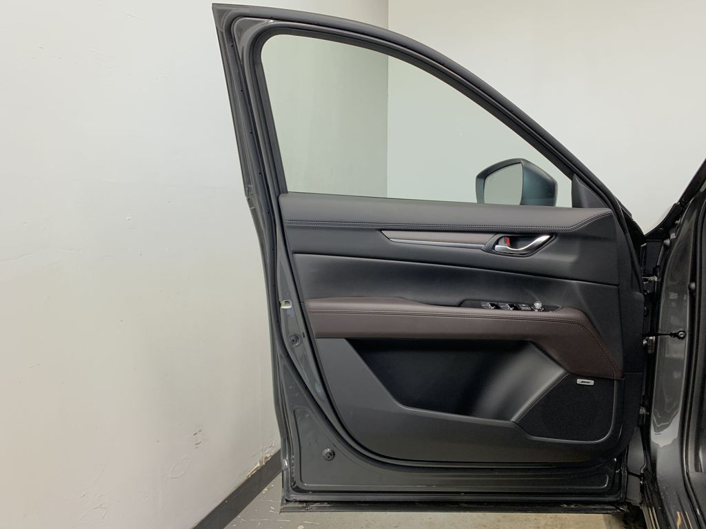MACHINE GREY METALLIC(46G) 2021 Mazda CX-5 Signature AWD Left Front Interior Door Panel Photo in Edmonton AB