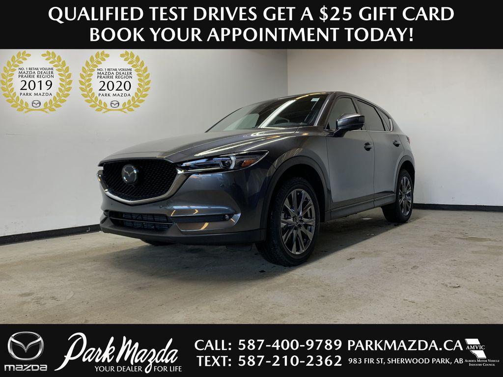 MACHINE GREY METALLIC(46G) 2021 Mazda CX-5 Signature AWD