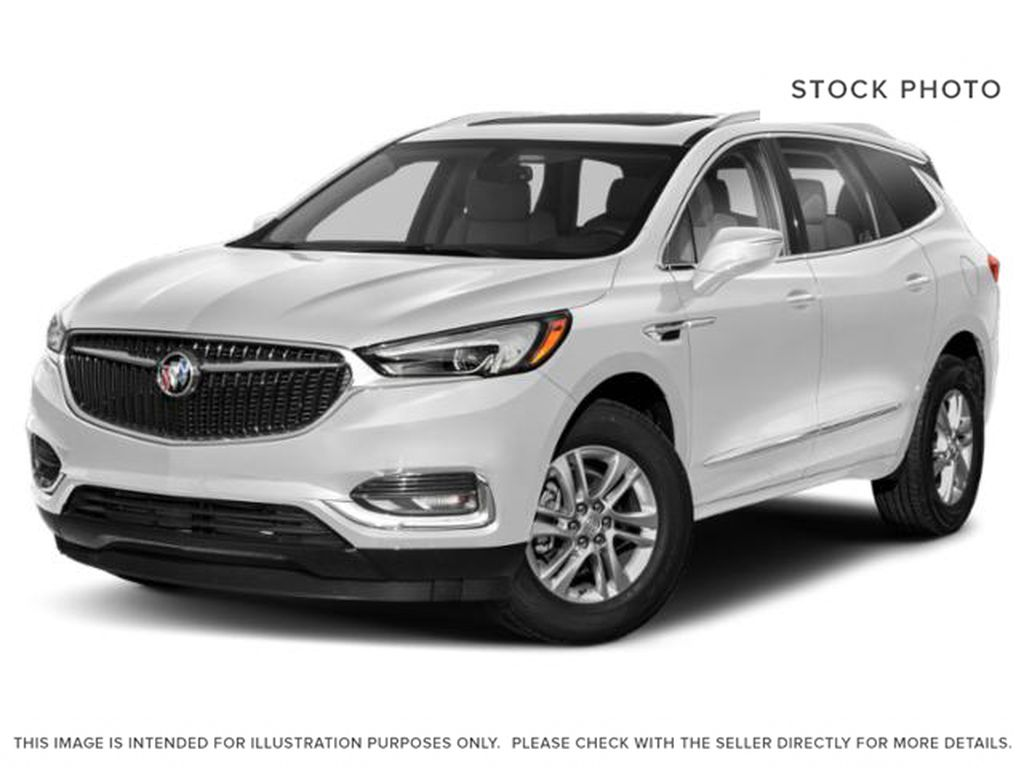 White[White Frost Tricoat] 2020 Buick Enclave