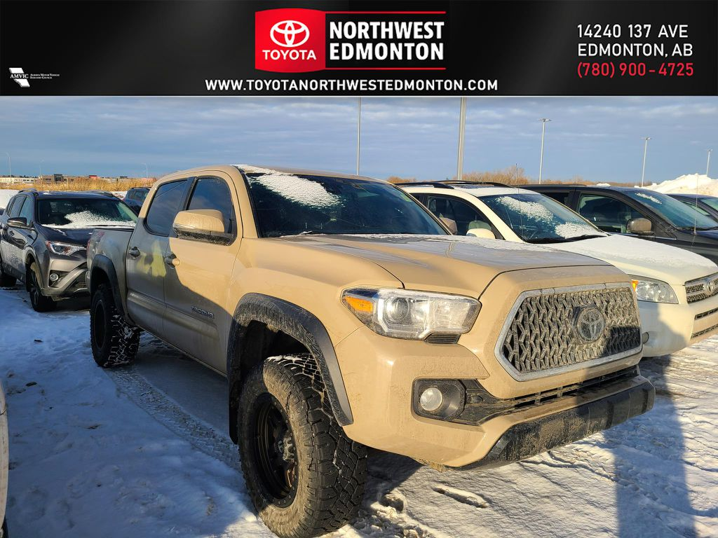 Tan 2018 Toyota Tacoma TRD Off Road
