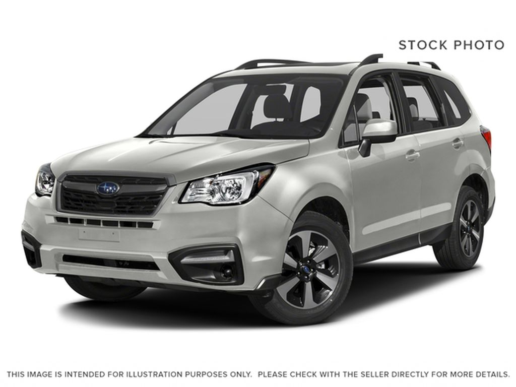 White[Crystal White Pearl] 2018 Subaru Forester