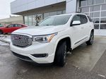 White[White Frost Tricoat] 2017 GMC Acadia Denali Left Front Head Light / Bumper and Grill in Calgary AB
