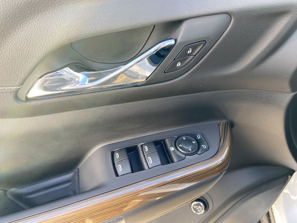 White[Summit White] 2021 GMC Acadia SLE  Driver's Side Door Controls Photo in Calgary AB