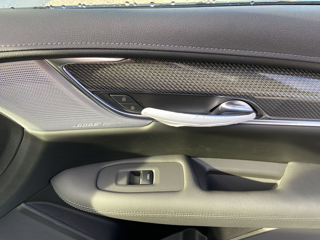 White[Crystal White Tricoat] 2021 Cadillac XT5 Premium Sport Passenger Front Door Controls Photo in Calgary AB