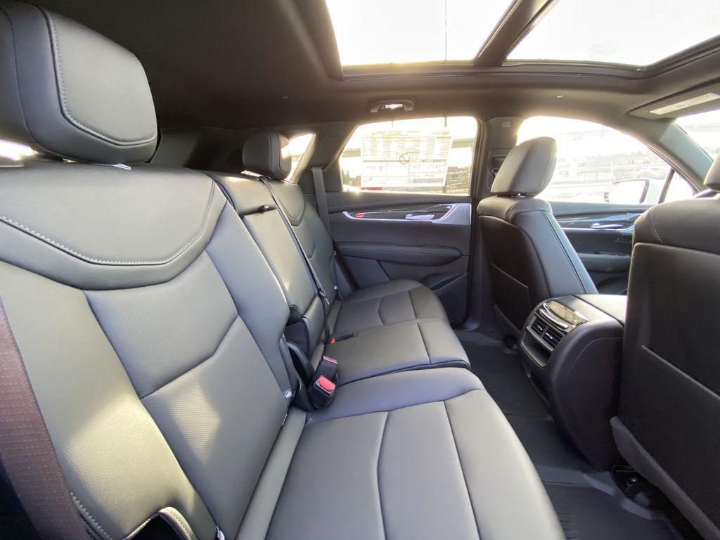 White[Crystal White Tricoat] 2021 Cadillac XT5 Premium Sport Right Side Rear Seat  Photo in Calgary AB