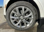 White[Crystal White Tricoat] 2021 Cadillac XT5 Premium Sport Left Front Rim and Tire Photo in Calgary AB