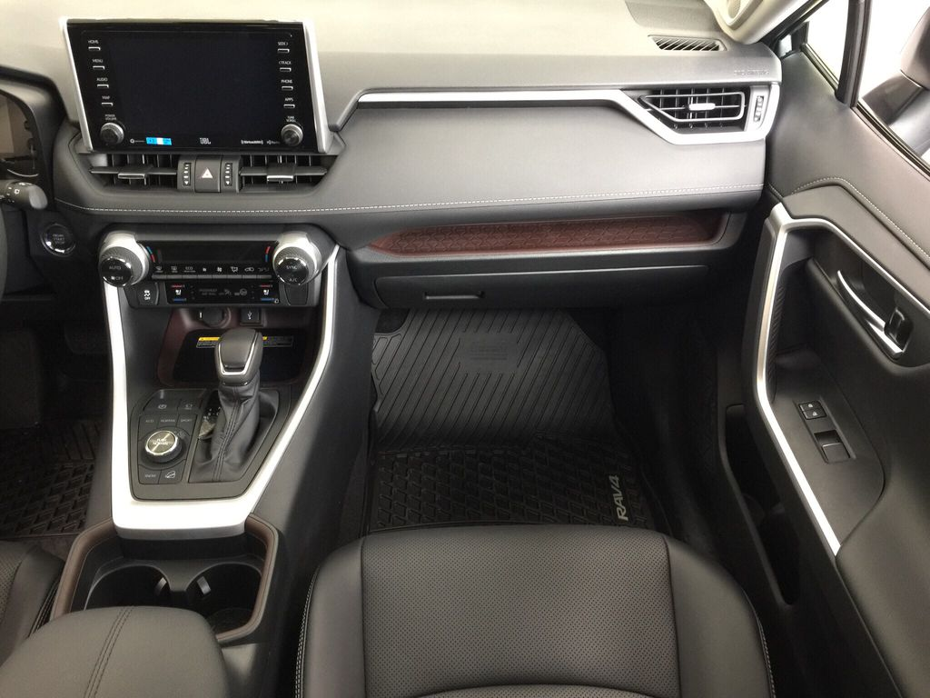 Silver[Silver Sky Metallic] 2021 Toyota RAV4 Limited Right Front Seat Photo in Sherwood Park AB