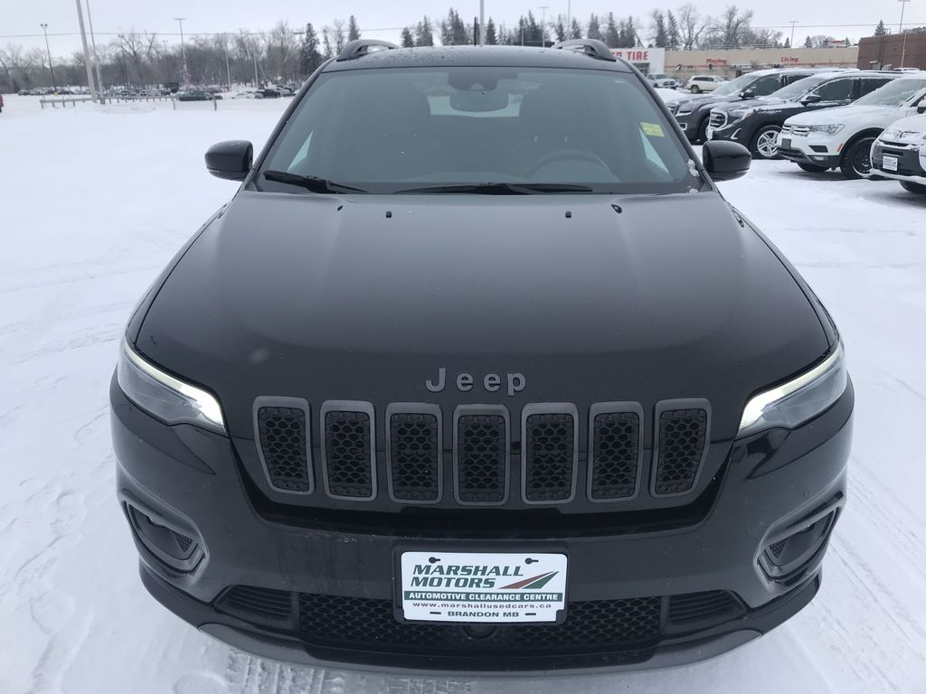Black 2019 Jeep Cherokee High Altitude 4x4 *Heated/Cooled Seats*Bluetooth*Back-up Cam* Front Vehicle Photo in Brandon MB