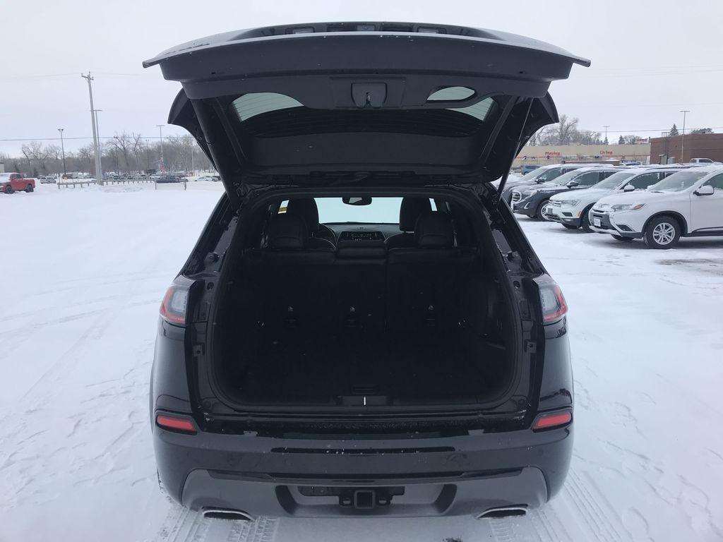 Black 2019 Jeep Cherokee High Altitude 4x4 *Heated/Cooled Seats*Bluetooth*Back-up Cam* Trunk / Cargo Area Photo in Brandon MB
