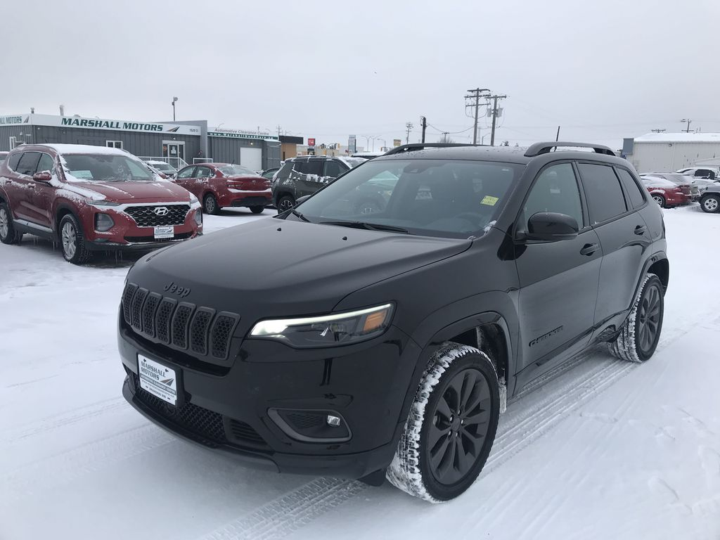 Black 2019 Jeep Cherokee High Altitude 4x4 *Heated/Cooled Seats*Bluetooth*Back-up Cam*