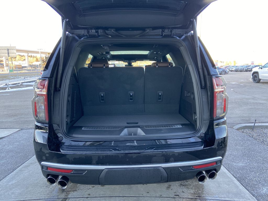 Black[Black] 2021 Chevrolet Tahoe High Country Trunk / Cargo Area Photo in Calgary AB