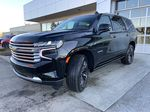 Black[Black] 2021 Chevrolet Tahoe High Country Left Front Head Light / Bumper and Grill in Calgary AB
