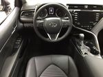 Gray[Pre-Dawn Grey Mica] 2020 Toyota Camry SE Hybrid Left Front Seat Photo in Sherwood Park AB