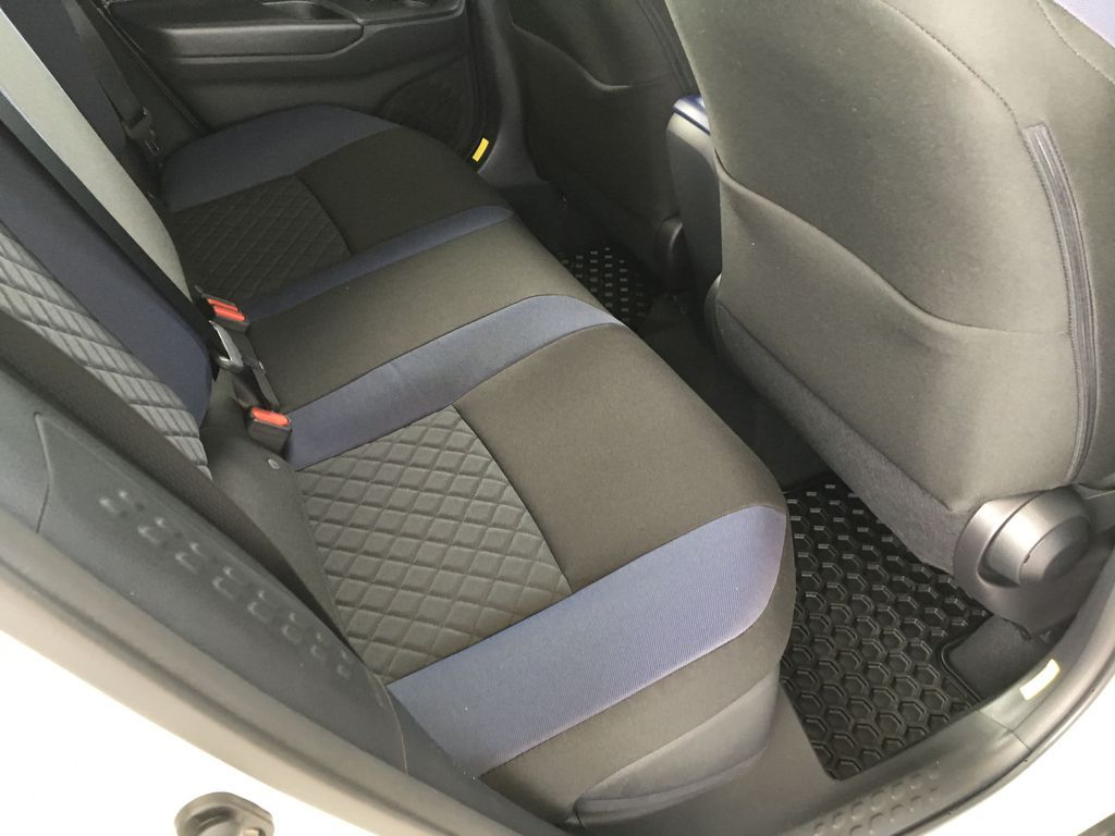 White[Blizzard Pearl] 2021 Toyota C-HR XLE Premium Left Side Rear Seat  Photo in Kelowna BC