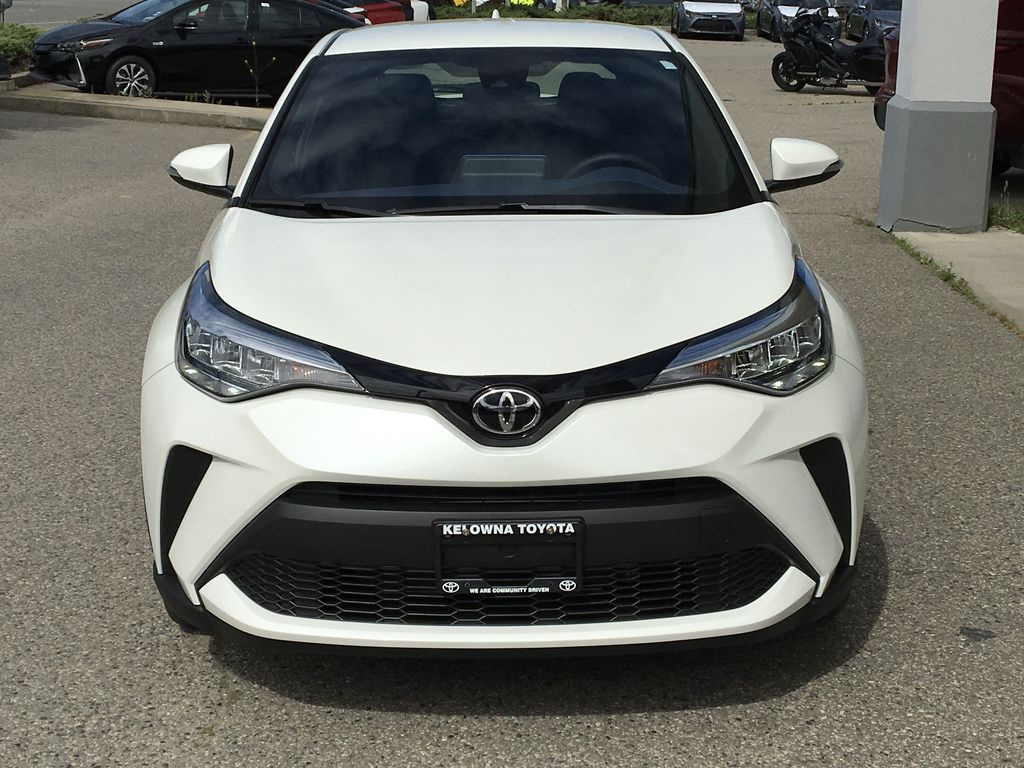 White[Blizzard Pearl] 2021 Toyota C-HR XLE Premium Front Vehicle Photo in Kelowna BC