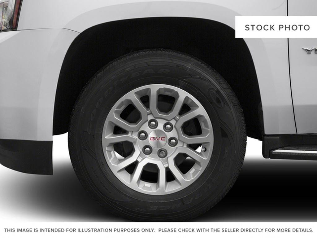 Black[Onyx Black] 2016 GMC Yukon Left Front Rim and Tire Photo in Fort Macleod AB