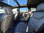 Black[Stellar Black Metallic] 2021 Cadillac XT6 Sport Left Side Rear Seat  Photo in Calgary AB