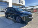 Black[Stellar Black Metallic] 2021 Cadillac XT6 Sport Right Side Photo in Calgary AB